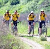 Park Service Teams, Mountain Bikers Promote Safe Trail Riding in California's Santa Monica Mountains
