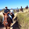 RV Resort Offers Guided Horseback Rides Along California Beach, Sand Dunes