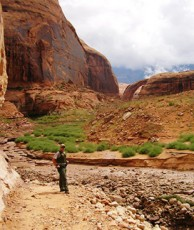 Heavy Rains Close Rainbow Bridge National Monument in Utah